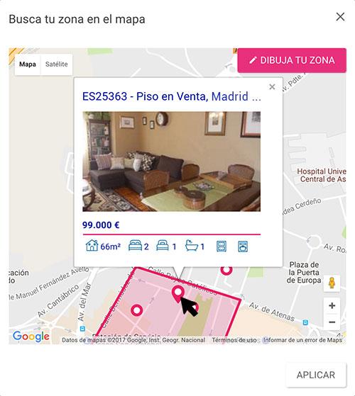 Localización Puntero Mapa