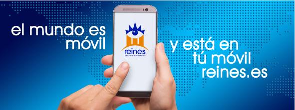 Aplicación para móvil de Reines Grupo Inmobiliario®