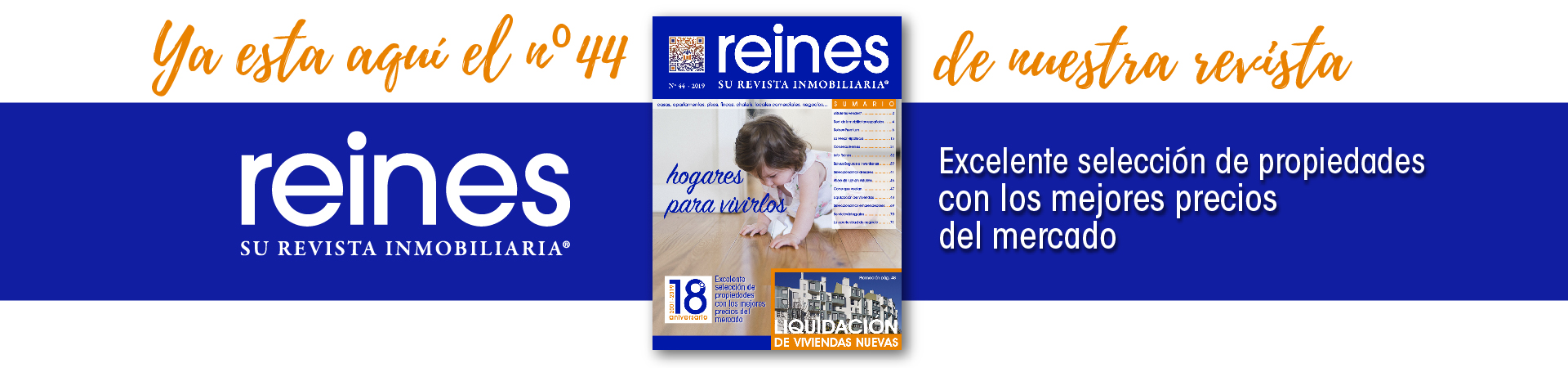 Revista Reines Grupo Inmobiliario