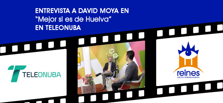 ENTREVISTA EN TELEONUBA A DAVID MOYA