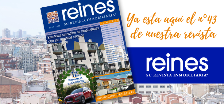 Nº43 DE REINES, SU REVISTA INMOBILIARIA