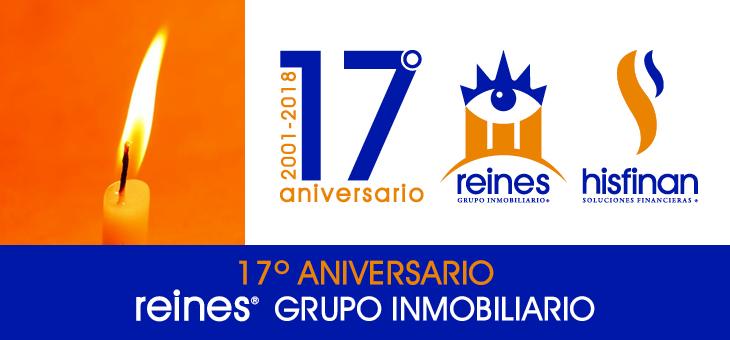 REINES CELEBRA SU 17º ANIVERSARIO